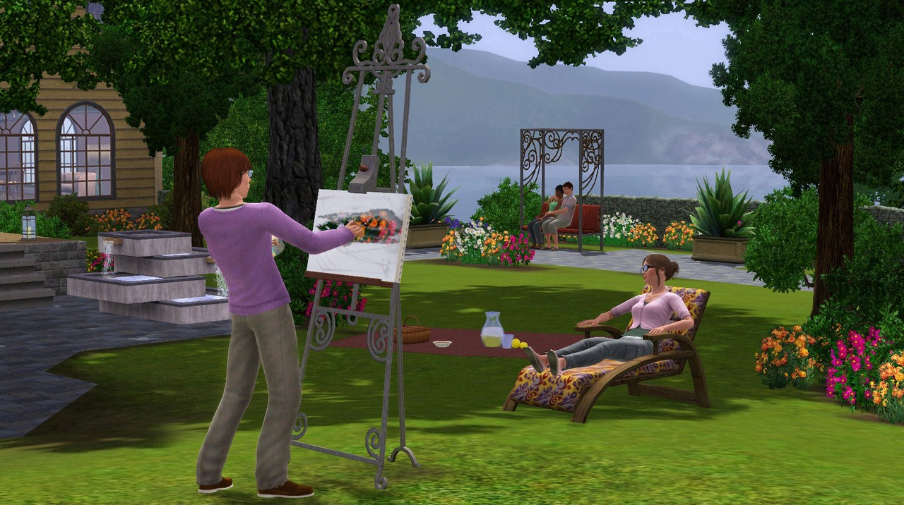 The Sims 3: Outdoor Living Stuff (Europe)