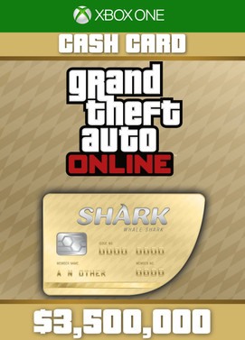 Grand Theft Auto Online: Whale Shark Cash Card Xbox ONE