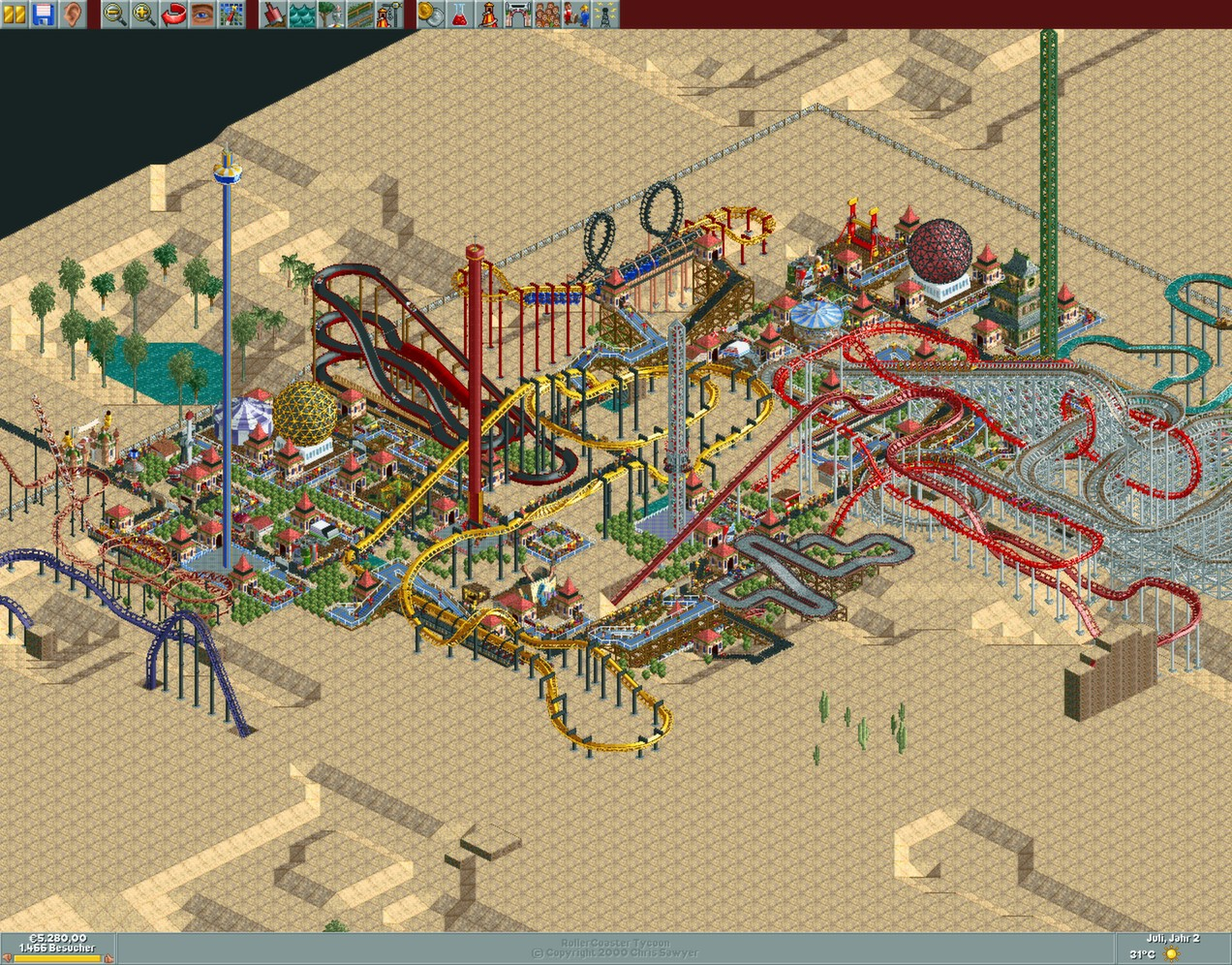 roller coaster tycoon 2 full version free download no cd