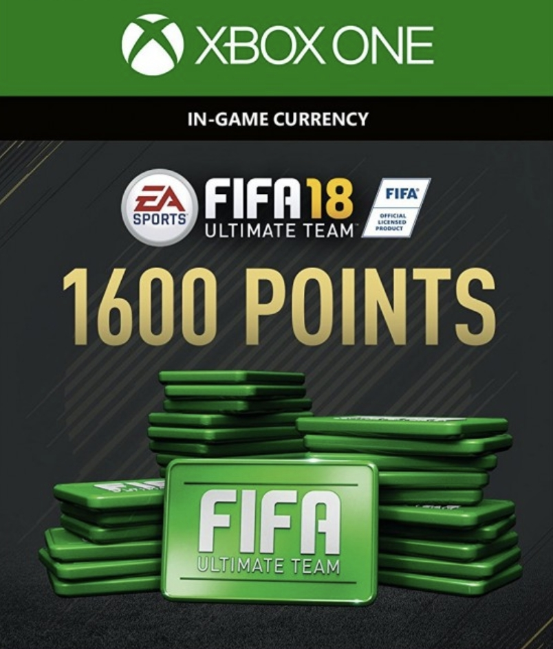 acheter fifa 18 1600 fut points xbox one xbox. Black Bedroom Furniture Sets. Home Design Ideas