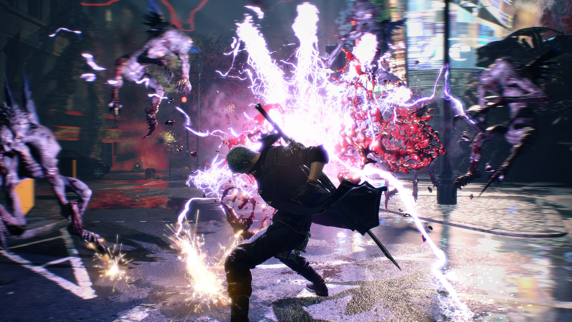 ... Devil May Cry 5 screenshot 2 ...