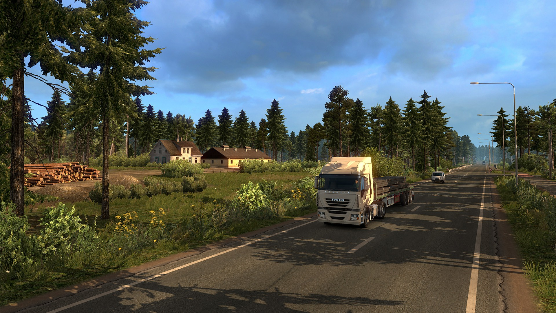 buy euro truck simulator 2 beyond the baltic sea steam. Black Bedroom Furniture Sets. Home Design Ideas