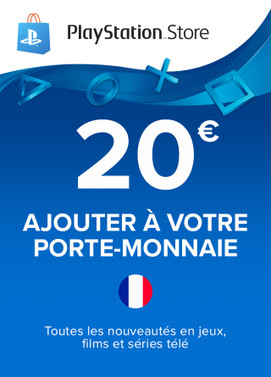Carte Playstation Network 20€ (France)
